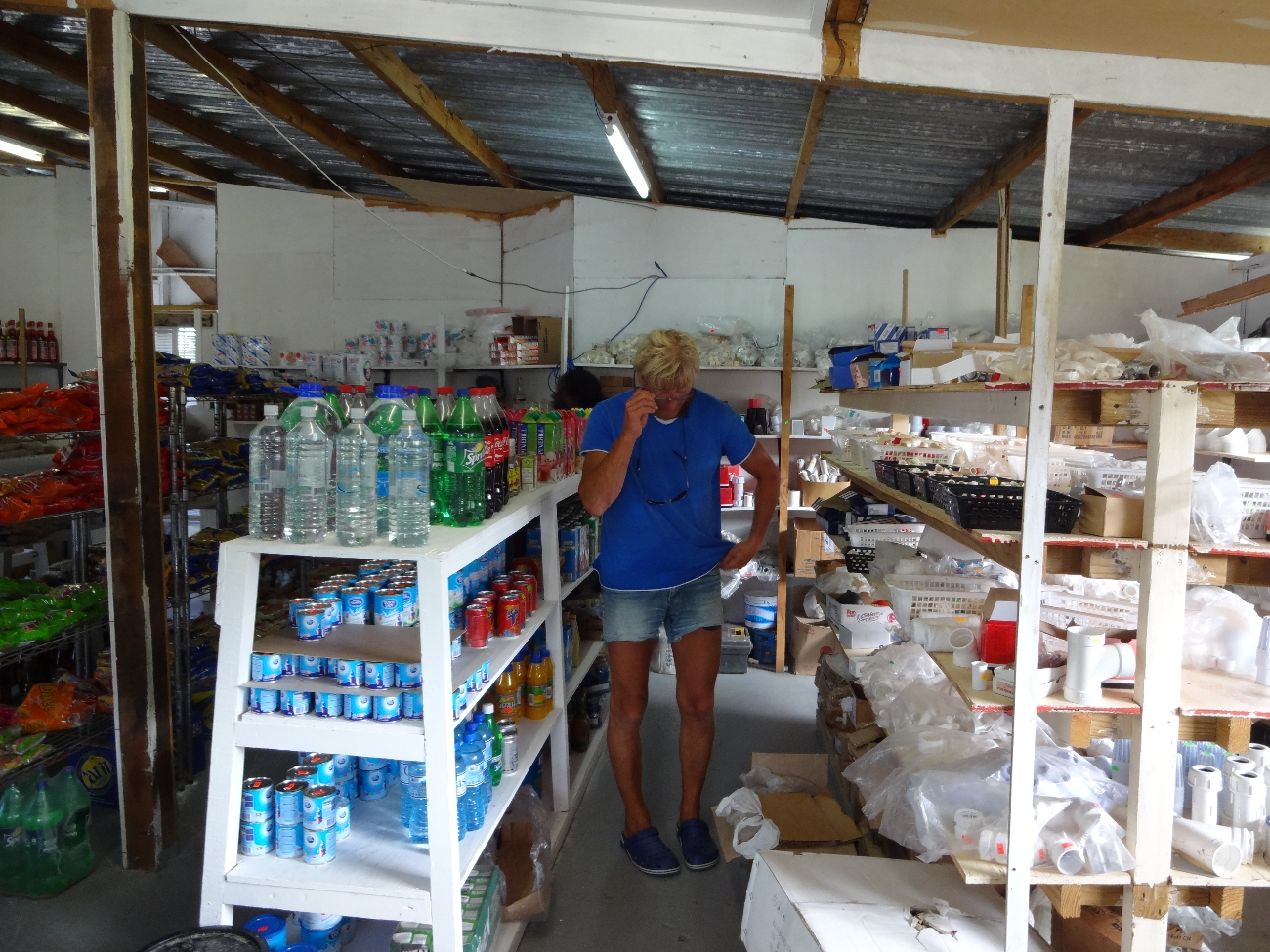 Supermarked på Cariacou
