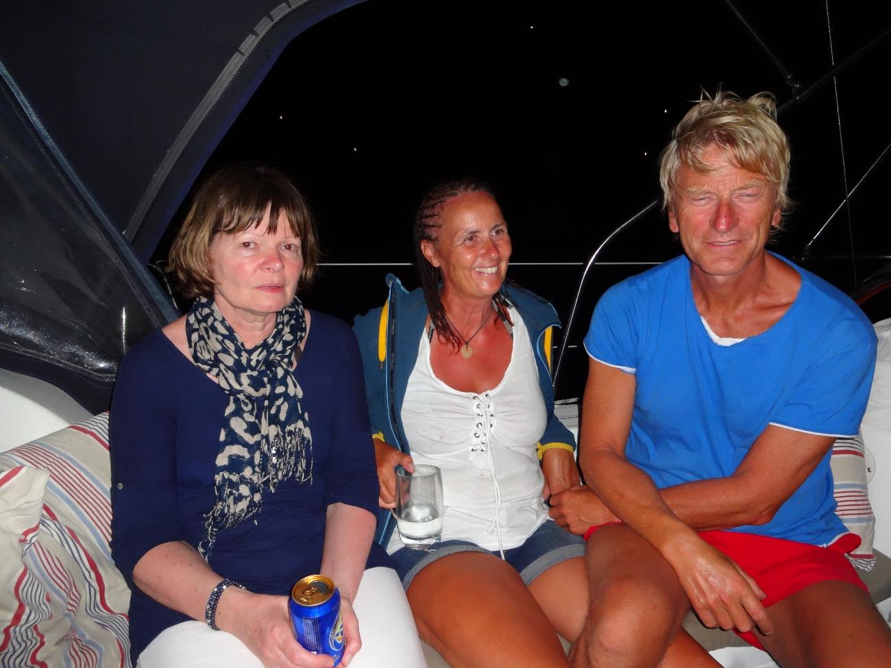 Torill, Kristin og Jan