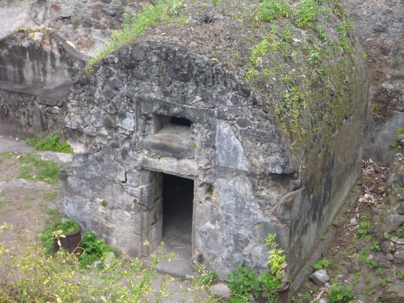 Eneste overlevende satt i dette fengslet.