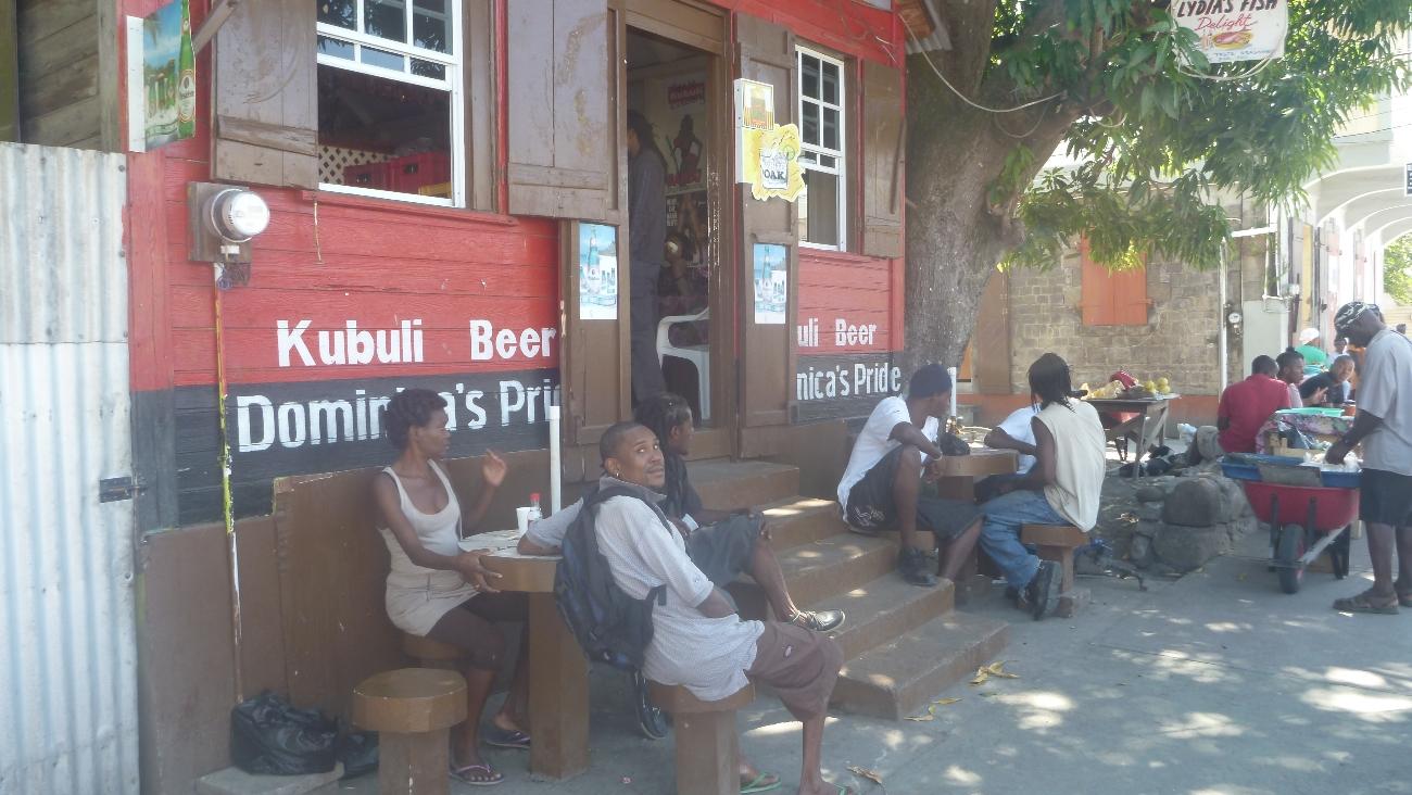 Lokal bar i Portsmouth