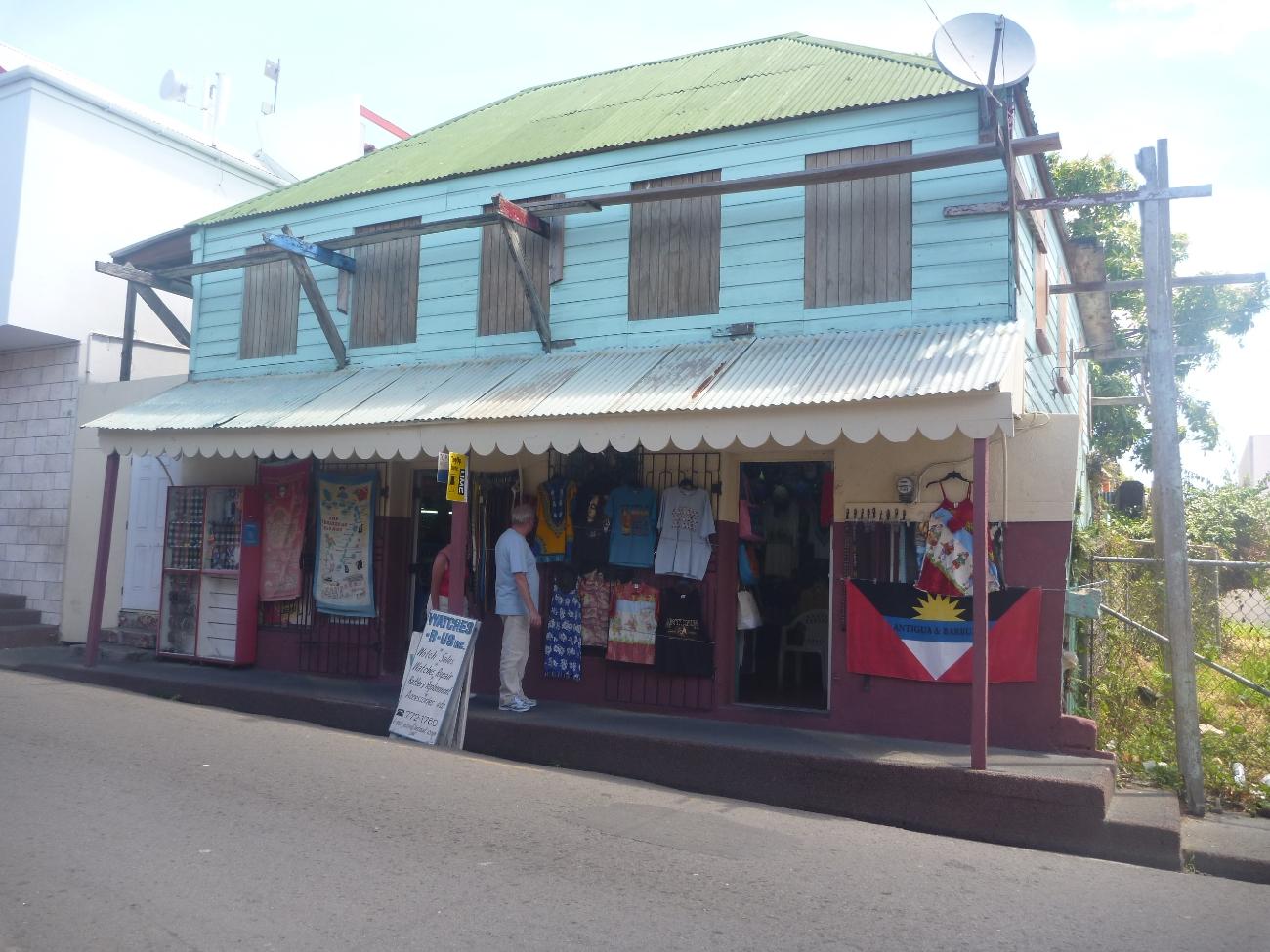 Motehus. St.John Antigua