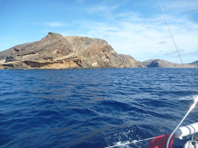 Innseiling til Madeira