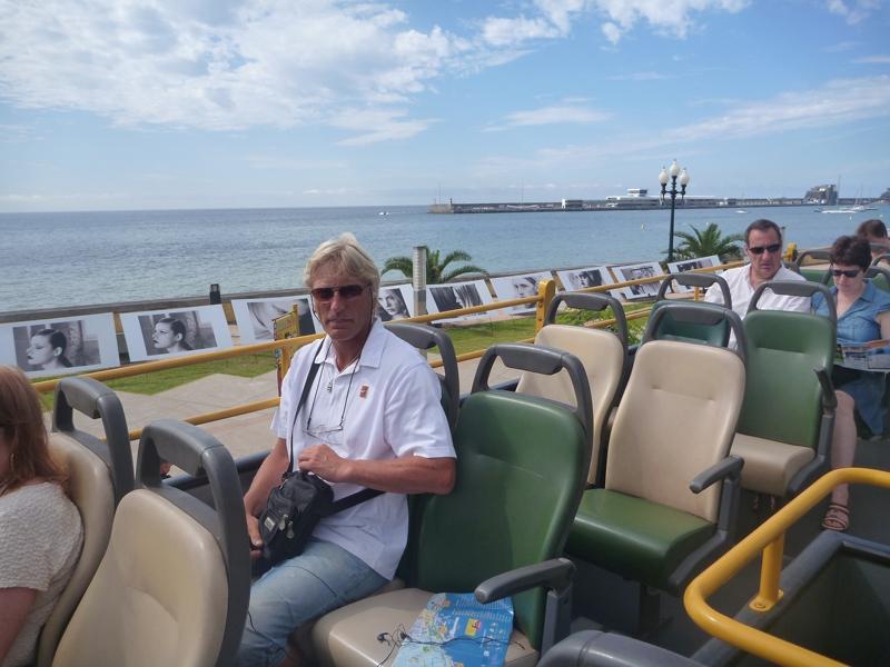 Turist. Skipperen på sightseeing!